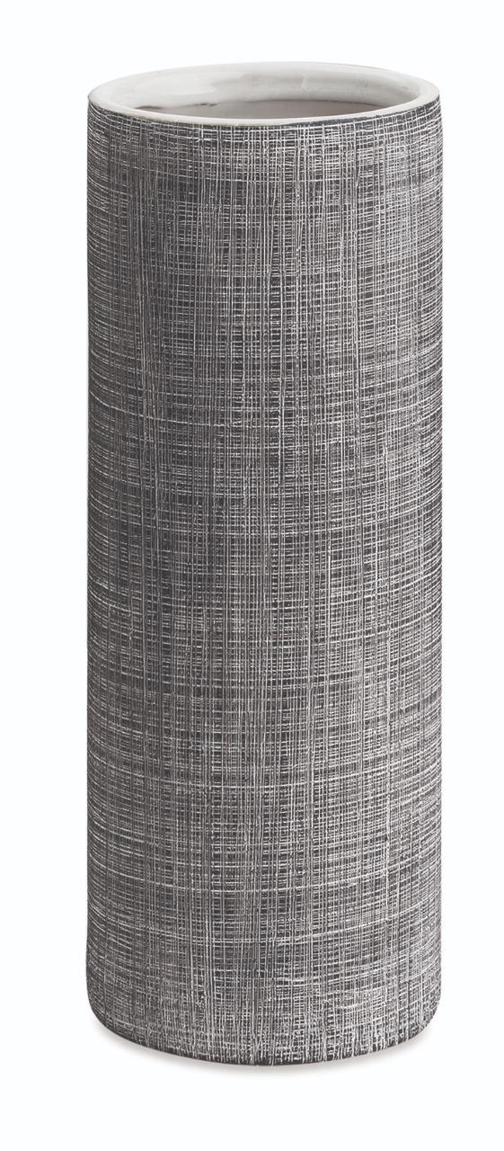 Vaso Linho em cerâmica preto
