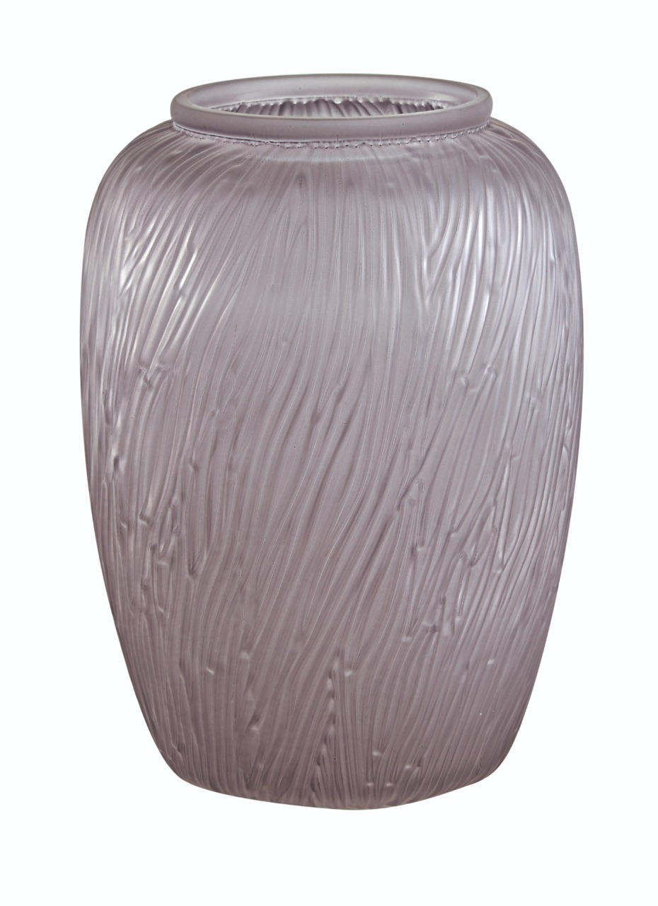 Vaso Mist de vidro lilás