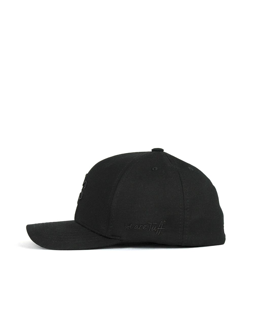 Bone TUFF All Black SMARTFLEX - Preto Logo Preto
