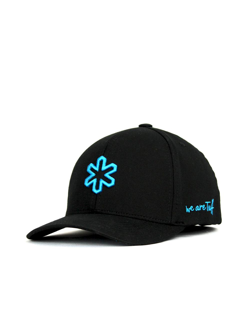 Bone TUFF Elite Flex - Preto Logo Azul