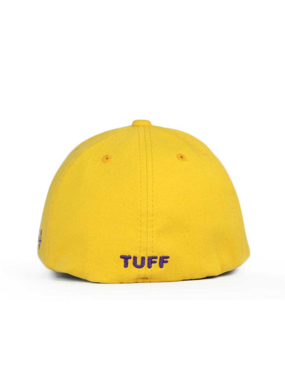 Bone TUFF Jack SMARTFLEX - Amarelo Logo roxo