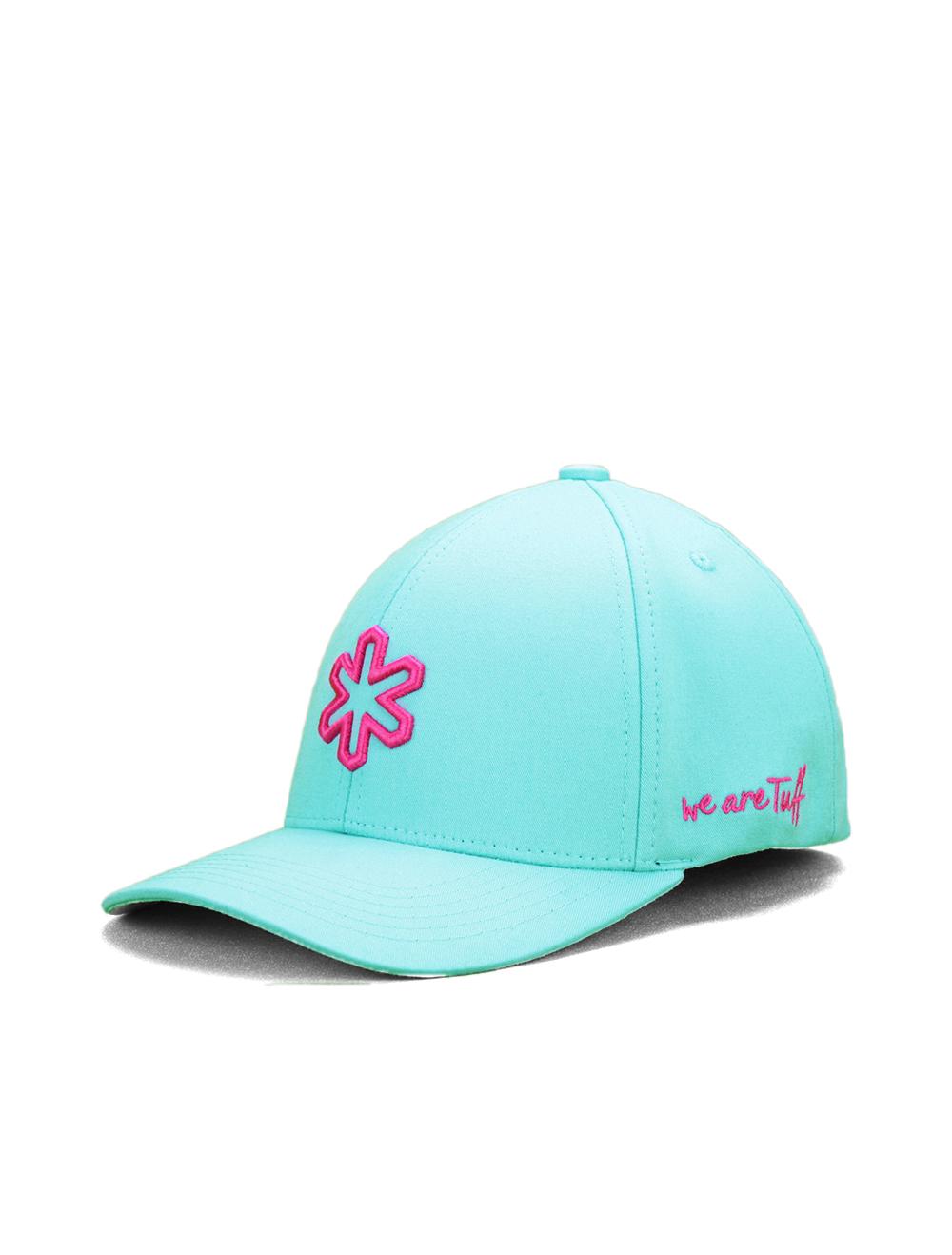 Boné TUFF Maldivas SMARTFLEX - Turquesa Logo Pink