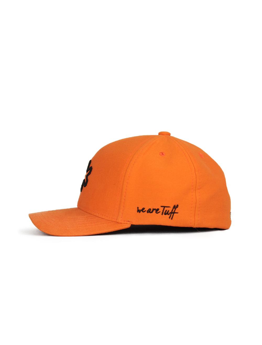 Bone TUFF Sun SmartFlex - Laranja Logo Preto