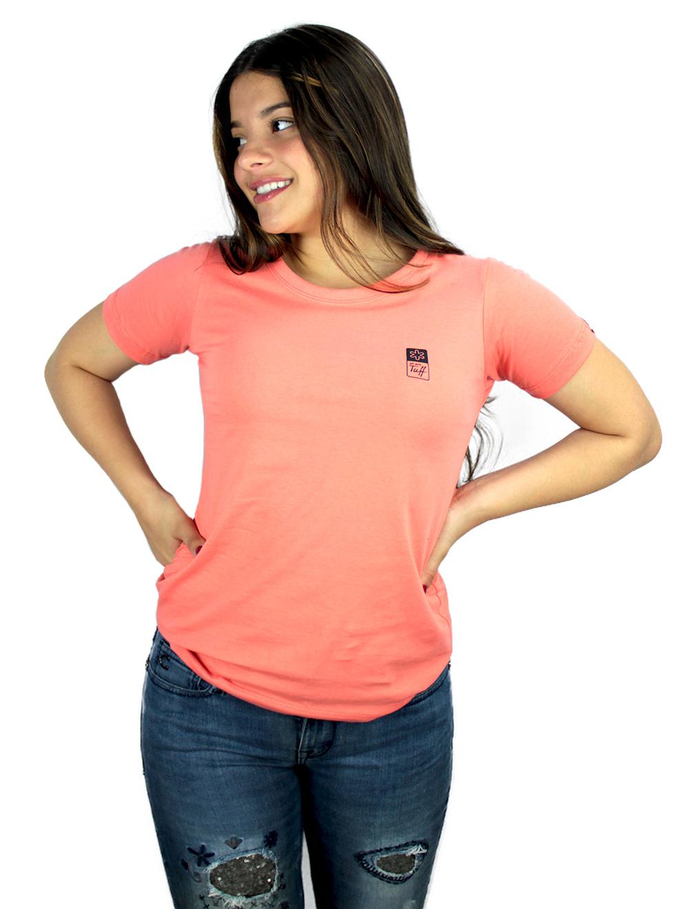 Camiseta Feminina Coral Silk Preto