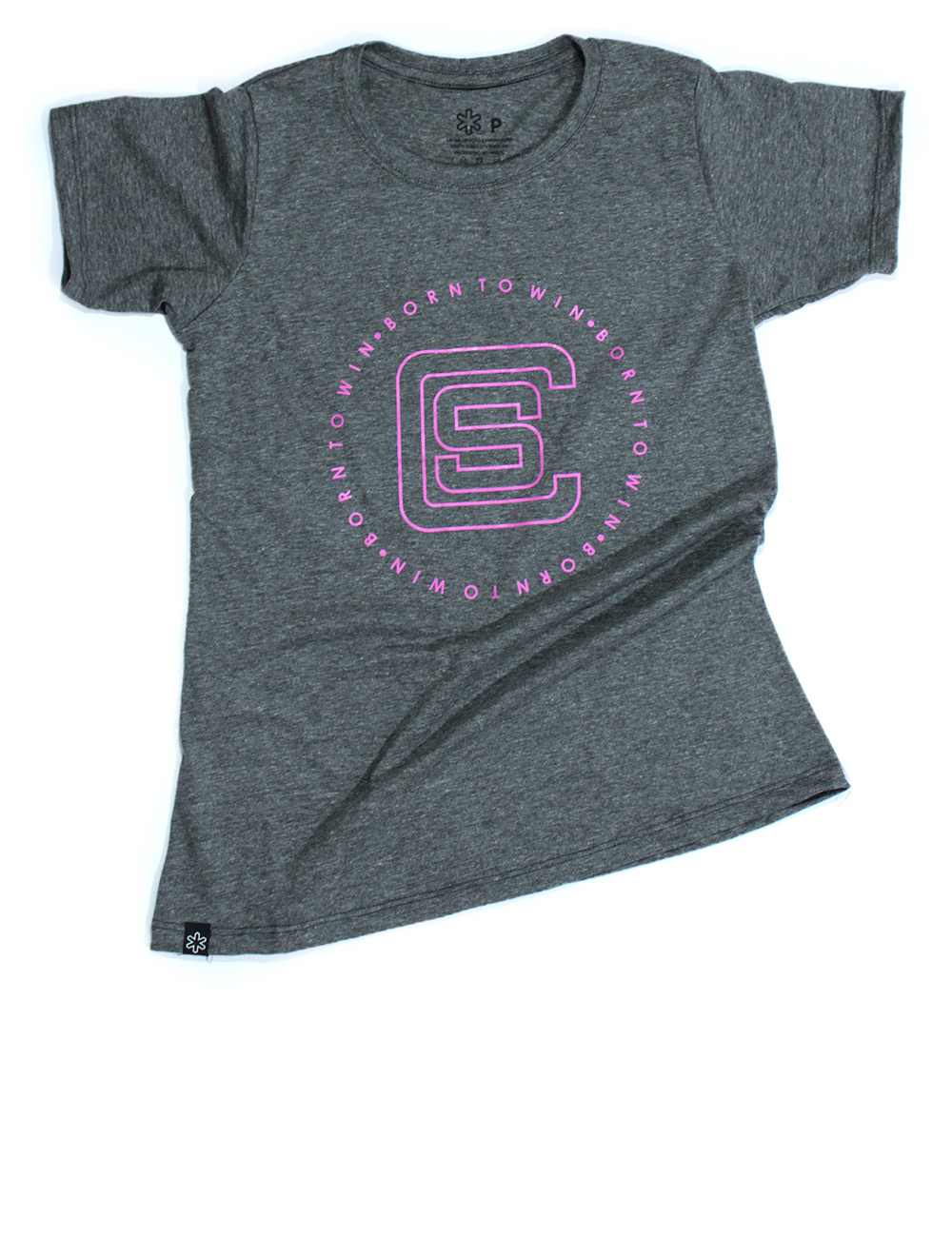 Camiseta Feminina Smart Chumbo Silk Rosa