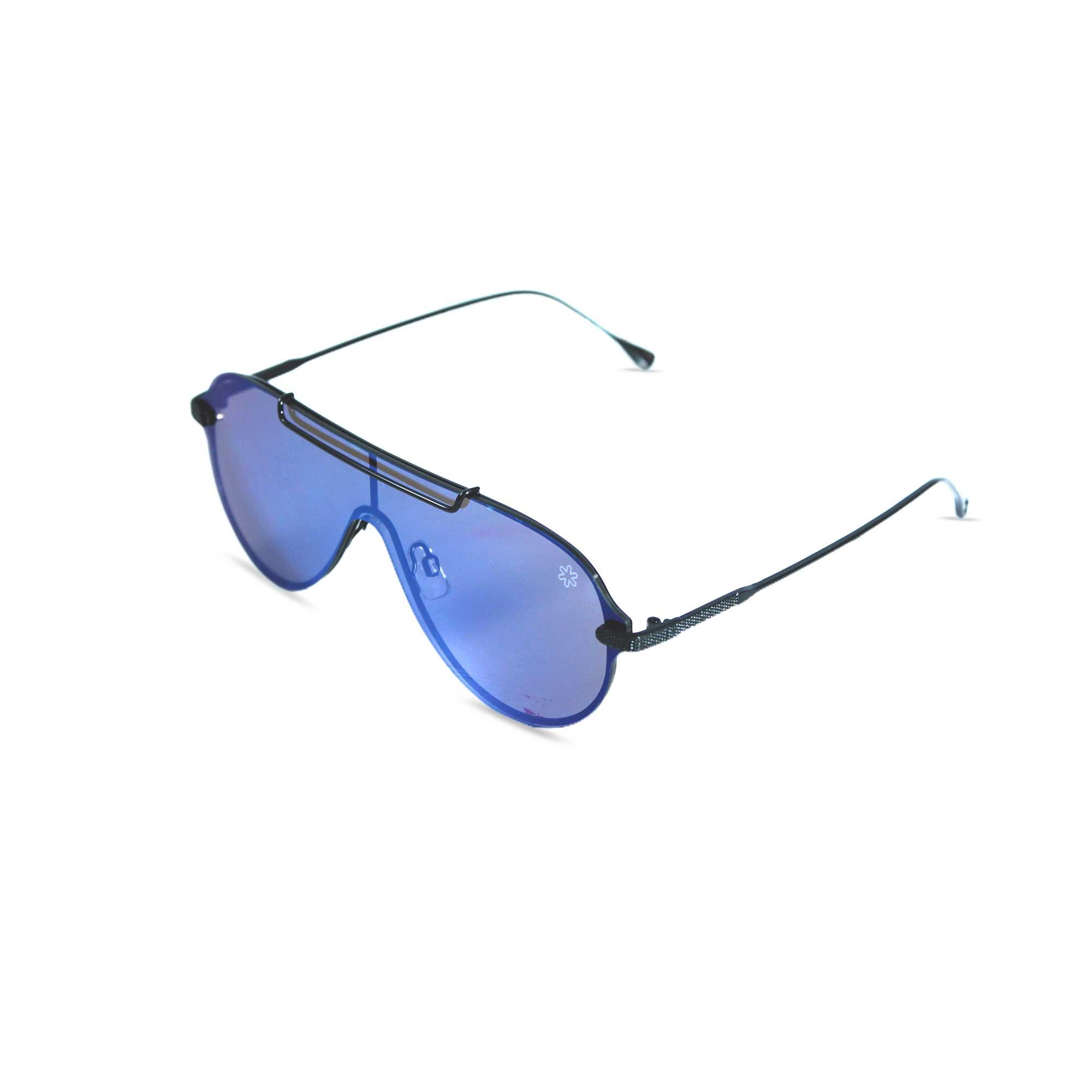 Sunglasses Aviador Espelhado Azul