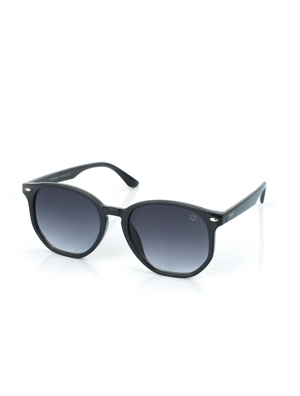 Sunglasses Hexagonal com  Degradê Preto