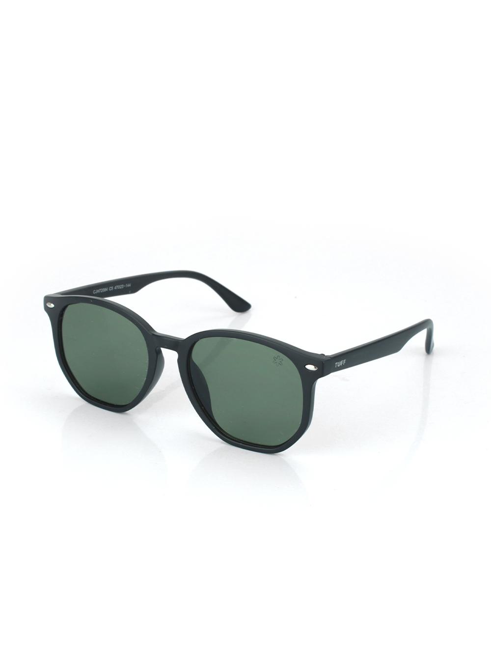 Sunglasses Hexagonal Verde
