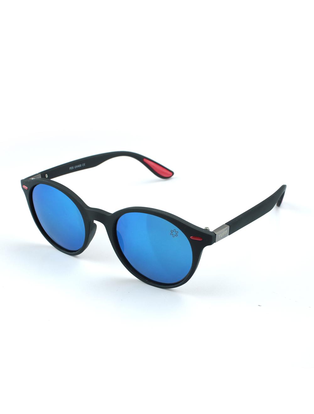 Sunglasses Moderno Azul com Lente Polarizado