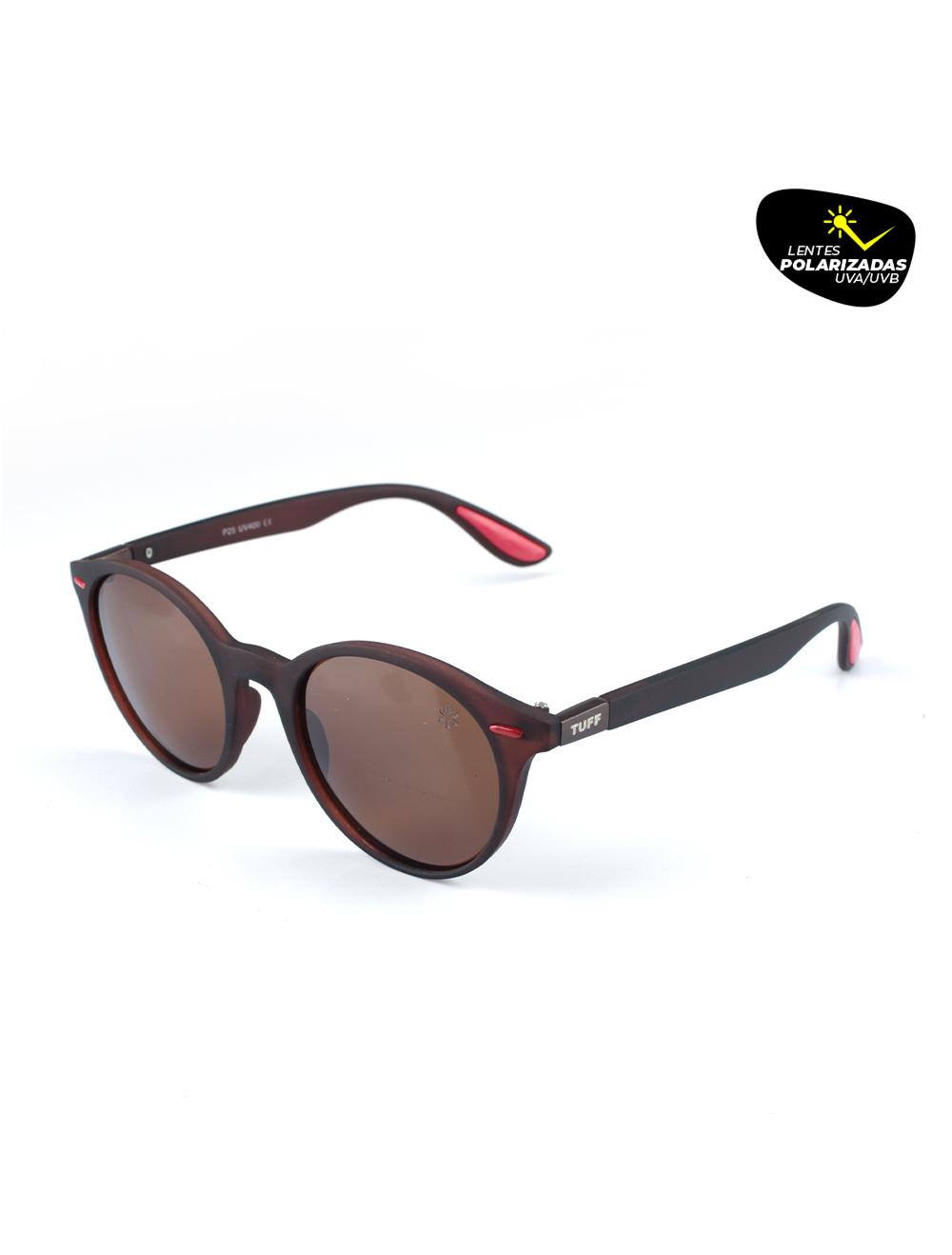Sunglasses Moderno Marrom com Lente Polarizada