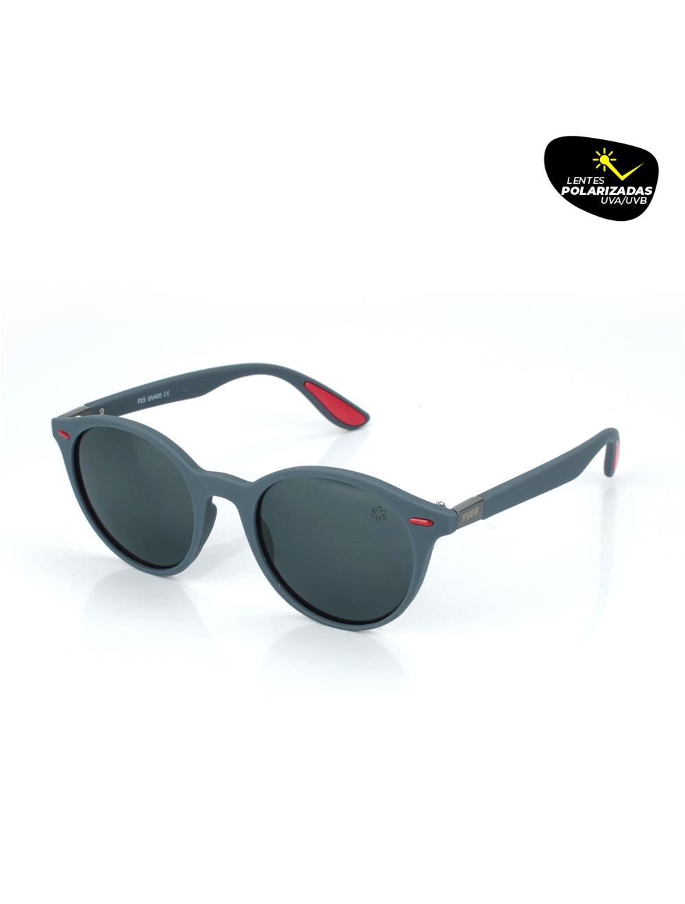 Sunglasses Moderno Preto com Lente Polarizada