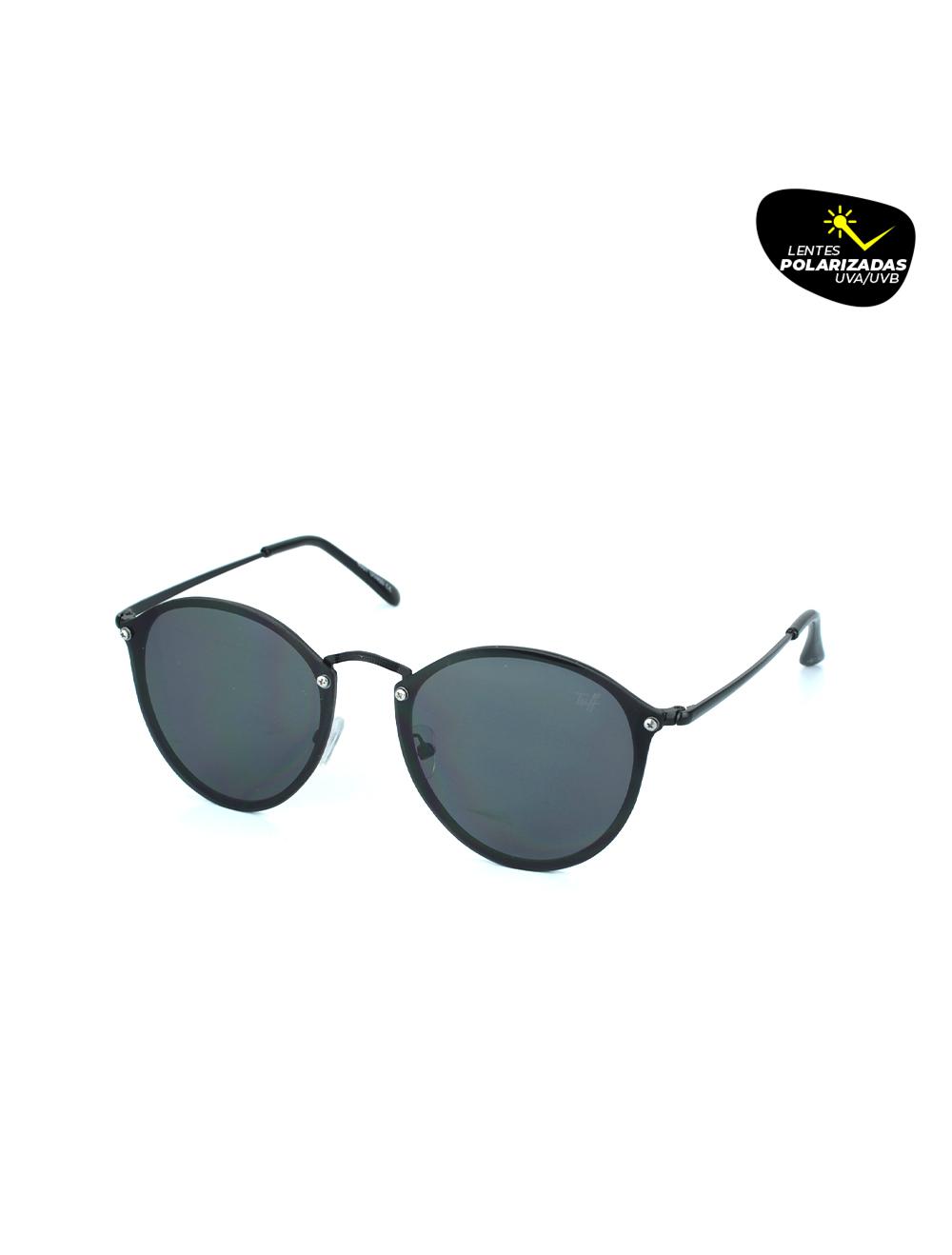 Sunglasses Pantos Preto Polarizado