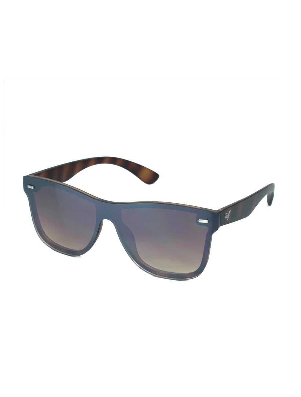 Sunglasses Quadrado Degradê Marrom