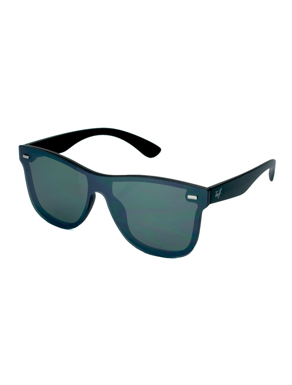 Sunglasses Quadrado Espelhado Verde