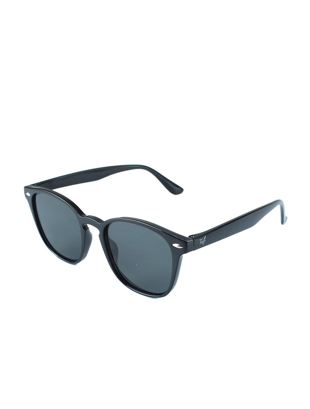 Sunglasses Quadrado Preto Brilhante