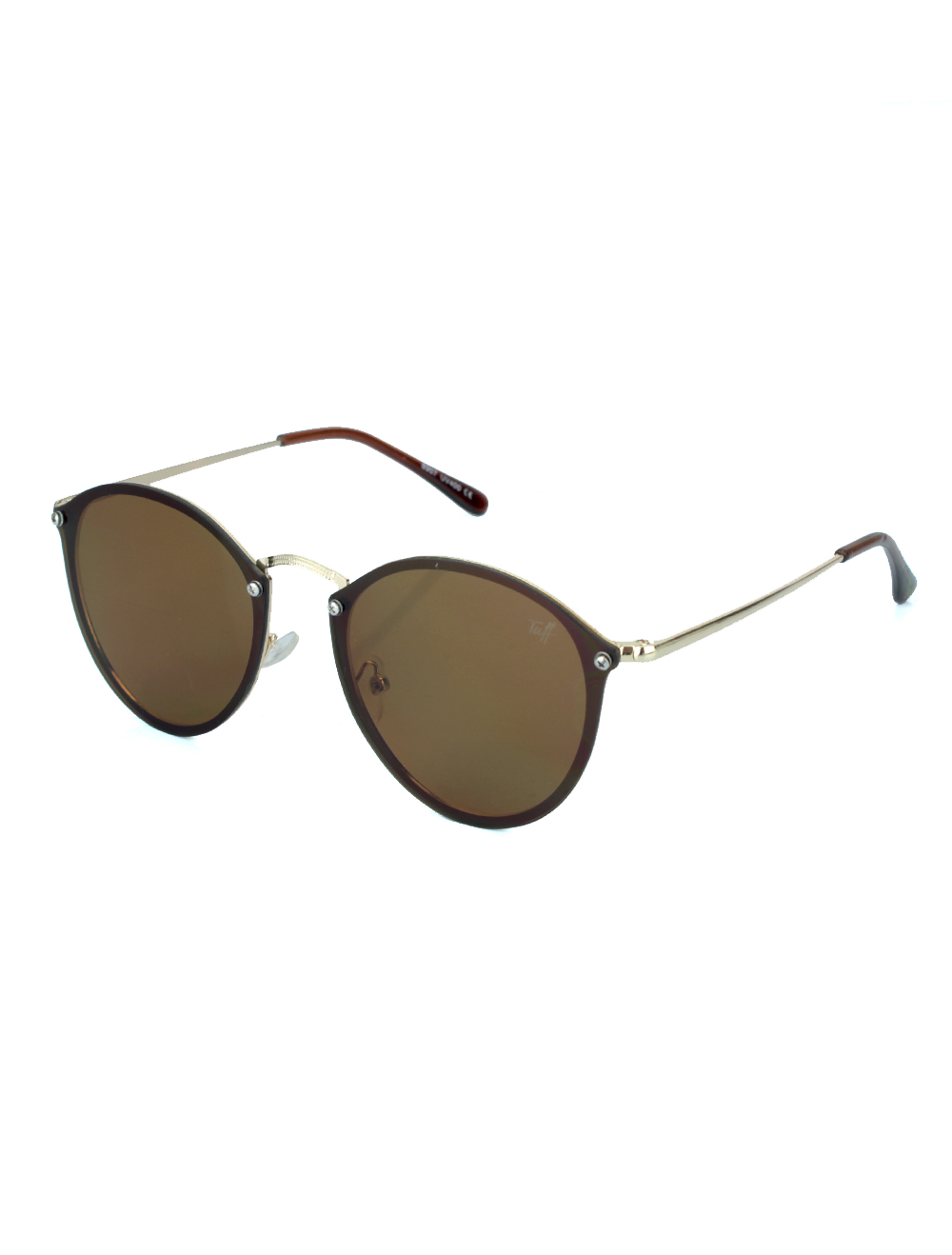 Sunglasses Redondo Marrom