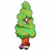 Árvore Maluca - Maninho Artesanatos