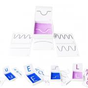 Caixa de Escrita Sensorial - Materiais para Brincar
