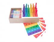 Caixa de Palitos Coloridos - Materiais para Brincar