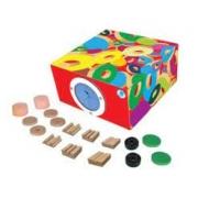 Caixa Tátil com 8 Texturas - Simque