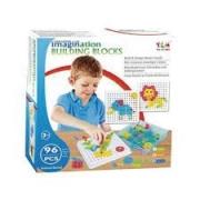 Imagination Building 96 Peças - Steam Toy