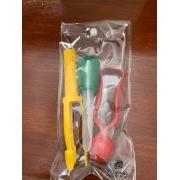 Kit 2 Pinças e 1 Super Conta-Gotas - Materiais para Brincar