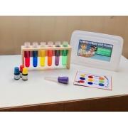 Laboratório de Cores - Materiais para Brincar