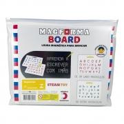 MagForma Board Letras e Números - Steam Toy