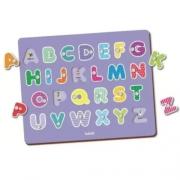 Meu Primeiro Quebra-Cabeça Alfabeto 26 Peças - Babebi