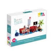 Quebra-Cabeça 3D Piratas - Babebi