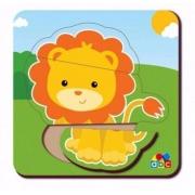 Quebra-Cabeça Baby Leão  Babebi