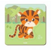 Quebra-Cabeça Baby Tigre  Babebi