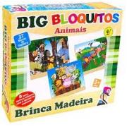 Quebra-Cabeça Big Bloquitos Animais - Bate Bumbo