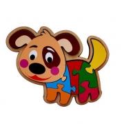 Quebra-Cabeça Cachorro 7 Peças - Maninho Artesanatos