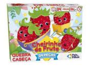 Quebra-cabeça Cheirinho De Fruta 24 Pcs Morango - Pais & Filhos