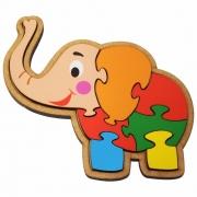 Quebra-Cabeça Elefante 7 Peças – Maninho Artesanatos