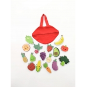 Super Saudável Frutas/Legumes/Verduras - Madu Brinquedos