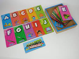 Alfabeto Ilustrado - Maninho Artesanatos
