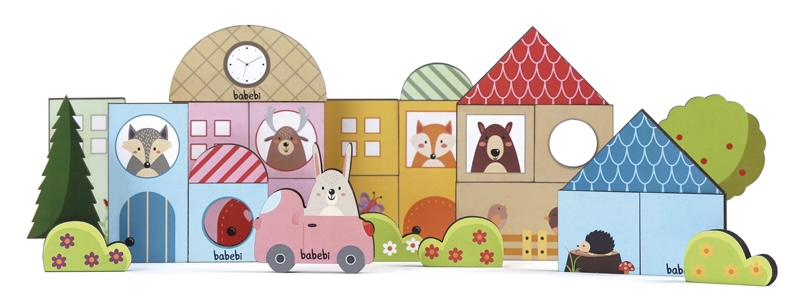 Baby Construtor 36 Peças - Babebi
