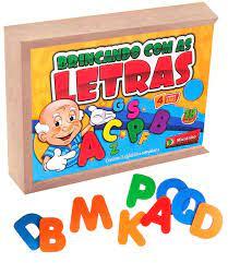 Brincando com as Letras - Maninho Artesanatos