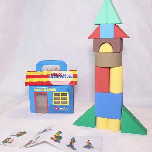 Casinha Arquitetura 15 Peças - Hergg Brinquedos Educativos