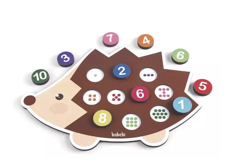Conte até 10 com o Ouriço - Babebi