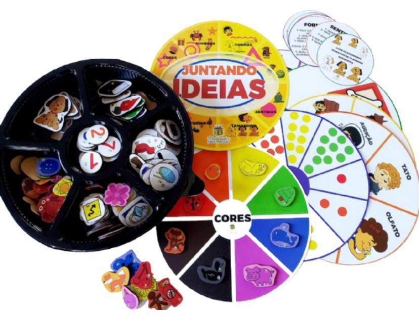 Juntando as Idéias - Materiais para Brincar