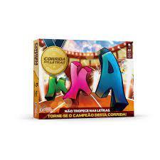 Corrida das Letras 128 Peças - Idea Jogos Pedagógicos