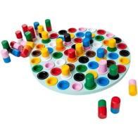Desafio da Cores Novo Modelo 61 Peças - Hergg Brinquedos Educativos