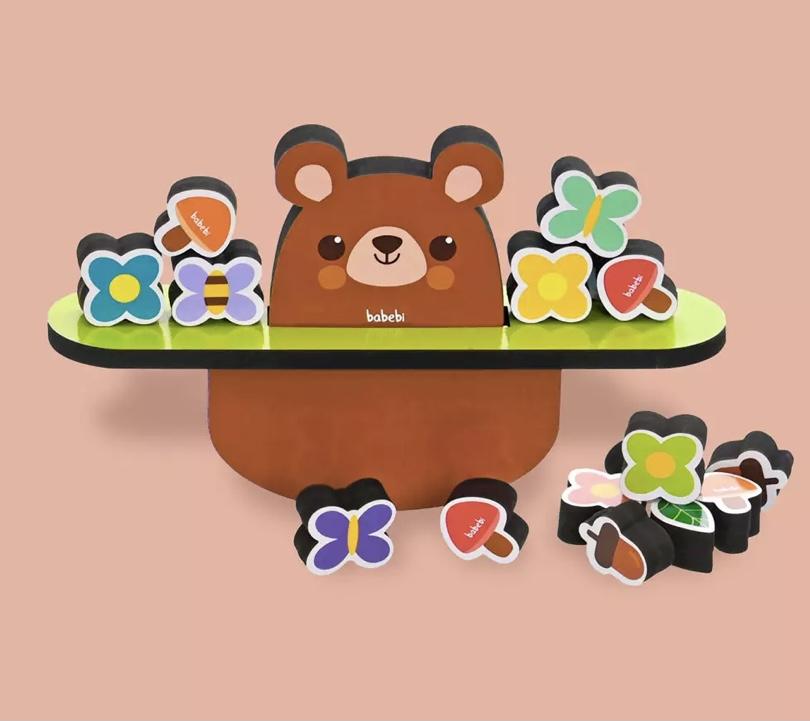 Equilibrando Ursinho 16 Peças  Babebi