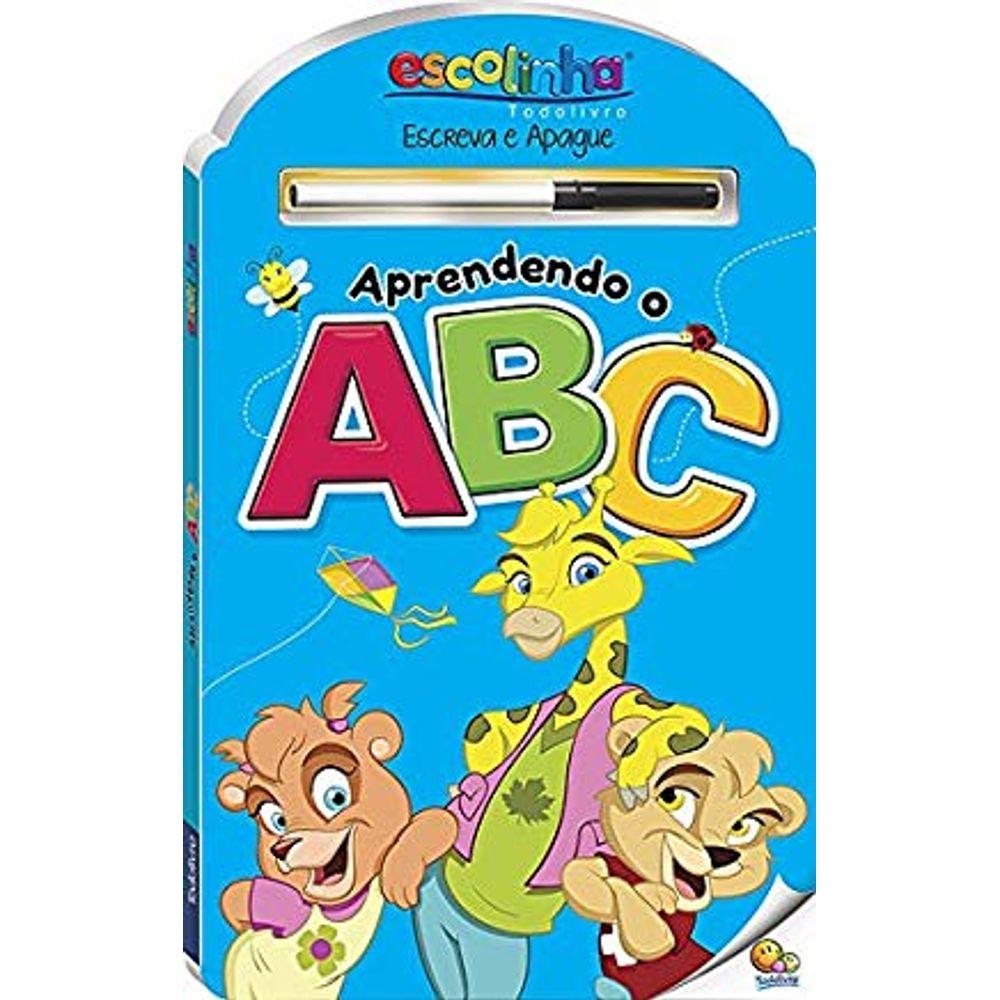 Escreva e Apague ABC - Todo Livro