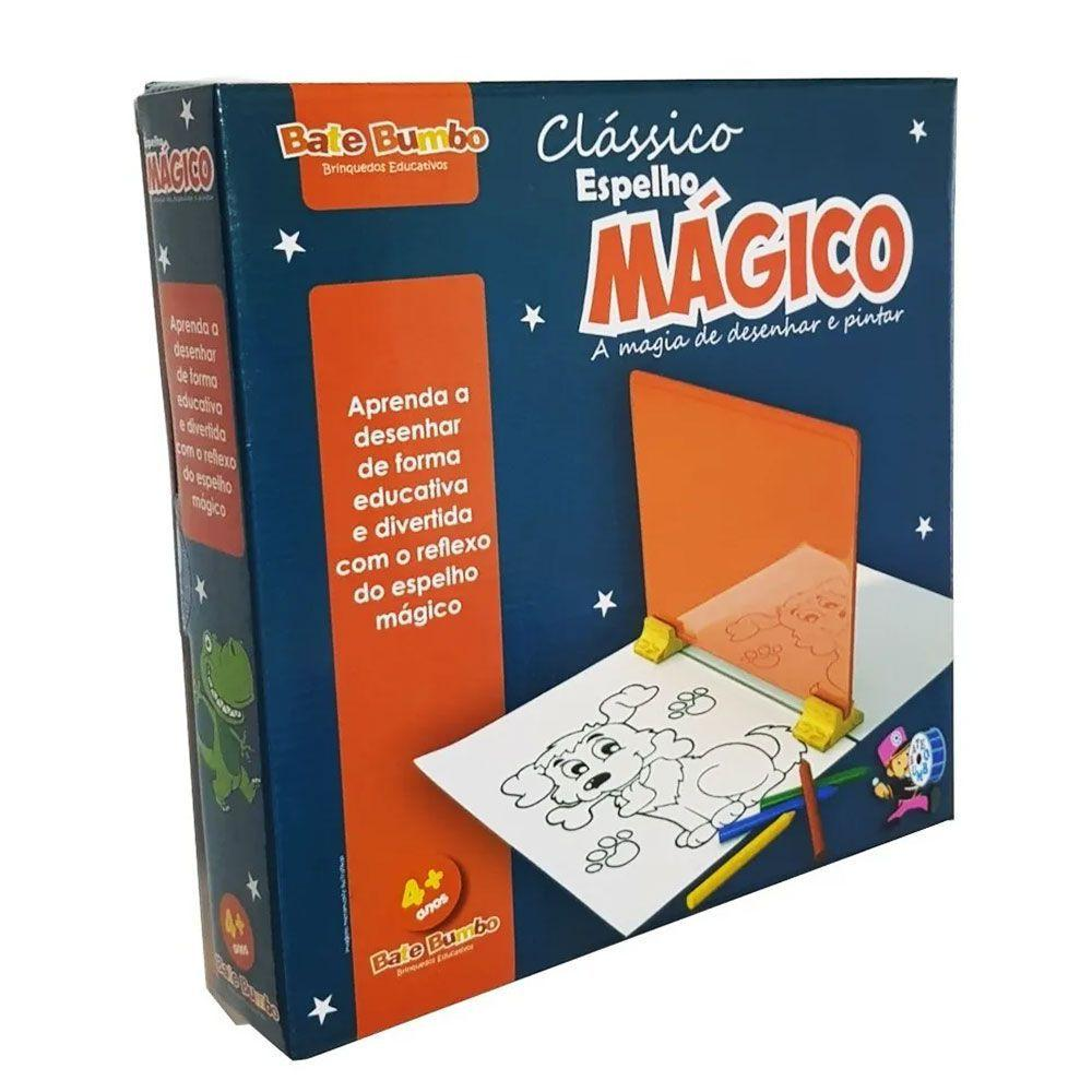 Espelho Mágico Brinquedo Clássico - Bate Bumbo