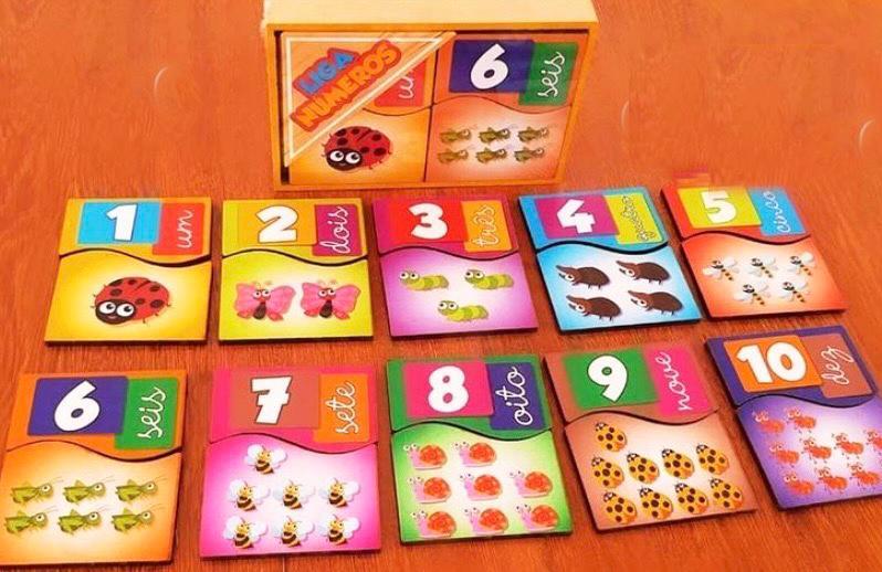 Liga Números - Maninho Artesanatos