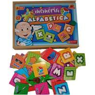 Memória Alfabética Premium 52 Peças - Maninho Artesanatos